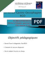 12)Reflux Gastro Oesophagien
