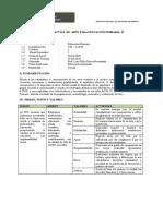 SILABO DE  DIDACTICA DEL  ARTE  PARA EDUCACION PRIMARIA II  - I 2020