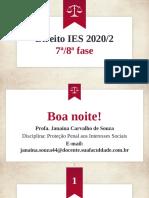 Aula 02 - Proteção Penal aos Interesses Sociais