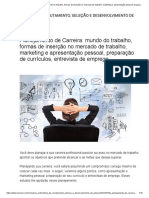 Planejamento de Carreira_ mundo do trabalho, formas de inserção no mercado de trabalho, marketing e apresentação pessoal, preparação de currículos, entrevista de emprego.pdf