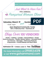 2011 Pampered Woman Show
