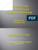 Relatiile externe ale UE(1)