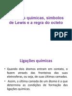 4 Ligacoes quimicas- simbolos de Lewis e a