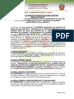 Contrato Maestro de Obra N°002