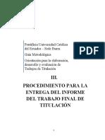 Guía para la elaboración de trabajos de investigación en la PUCE-SI V2.