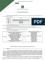 Projeto de Norma Técnica SENASP