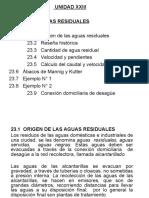 UNIDAD  XIV   AGUAS RESIDUALES