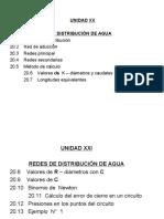 UBIDAD  XX  REDES DE DISTRIBUCIÓN