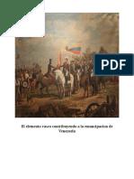 Vascos en La Emancipacion de Venezuela