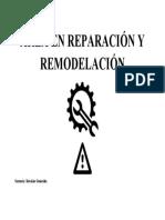 ÁREA EN REPARACIÓN Y REMODELACIÓN
