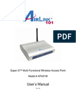 airlink101 access point -ap431w
