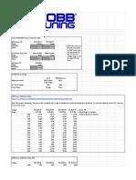 AccessTUNER Calibration & Tuning Guide Worksheet for Subarus v2.07