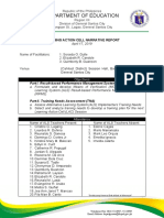 4th LAC Session Documentation