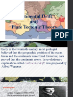 REPORT IN SCIENCE CONTINENTAL PLATE THEORY