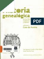 HISTORIA GENEALOGICA DE LOS TITULOS Y DIGNIDADES NOBILIARIAS EN NUEVA ESPAÑA Y MÉXICO - 01 Cubierta