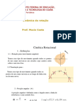1. Cinética Rotacional