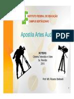 Apostila Artes Audiovisuais