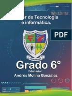 grado sexto tecnología e informática