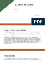 Teoria Max Weber