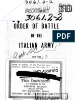 Order of battle of the Italian Army (USA HQ G2 July 1943)