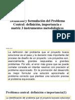 Definición y formulación del Problema Central [Autoguardado]
