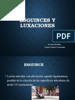 ESGUINCES Y LUXACIONES II