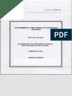 PE-PO-OP-1352-2009 PROCEDIMIENTO PARA OPERAR UN SEPARADOR TRIFÁSICO.pdf