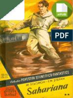 Colecţia de povestiri SF. Nr. 22 • M. Solomon şi I.M. Ştefan • Sahariana (2)