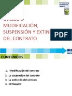 FOL 9 MODIFICACION, SUSPENSION Y EXTINCION DEL CONTRATO -2019.pptx