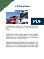 Sistemas de Refrigeración en Camiones