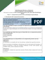 Guía para el desarrollo del componente práctico - Paso 4 - Componente práctico
