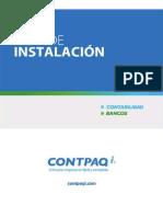 Guía de Instalación CONTPAQ i® CONTABILIDAD-BANCOS