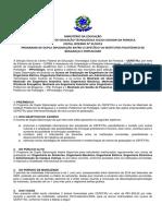 Edital Dupla Diplomação IPB 05 2019