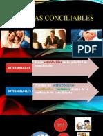 Materias conciliables