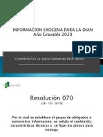 Jorge Beltran exogena 2020 Accounter  EXÓGENA 2020