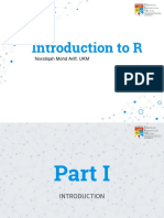 Chapter 1 Introduction to R