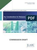 JLARC Report- Key Considerations for Marijuana Legalization