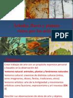 Clases de 3° básico artes visuales.