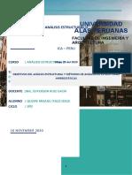 trabajo analisis estructural n°1