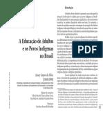 A Educação de Adultos e os Povos Indígenas no Brasil - Aracy Lopes da Silva