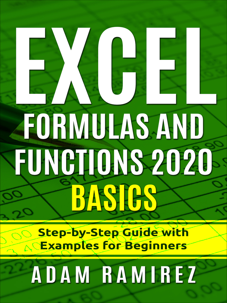 Excel Formulas and Functions 20 Basics  Step by Step Guide with ...