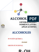 11. ALCOHOLES GENERALIDADES