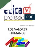 Clase Nª 2 Valores Humanos