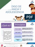 CODIGO DE INAFANCIA Y ADOLESCENCIA