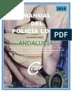 MANUAL DEL POLICIA LOCAL ANDALUCÍA 2019  versión móvil