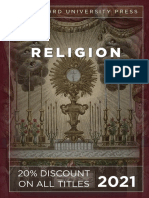 Stanford University Press, Religion 2021