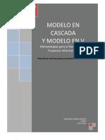 MODELO CASCADA Y MODELO V