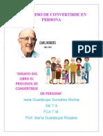 EL PROCESO DE _VERTIRSE EN PERSONA. ENSAYO FI