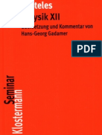 (Klostermann-Texte Philosophie) Aristoteles, Hans-Georg Gadamer (Hg.) - Metaphysik XII (Klostermann-Texte Philosophie)-Vittorio Klostermann (1976).pdf