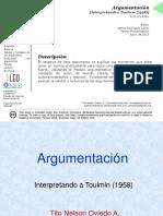 ARGUMENTACIÓN_INTERPRETANDO A TOULMIN_OVIEDO(2015)